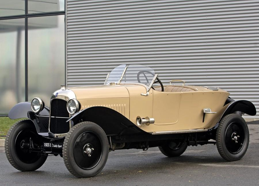 1923 10 HP Type B2 Torpédo Sport Caddy erstatter Type A