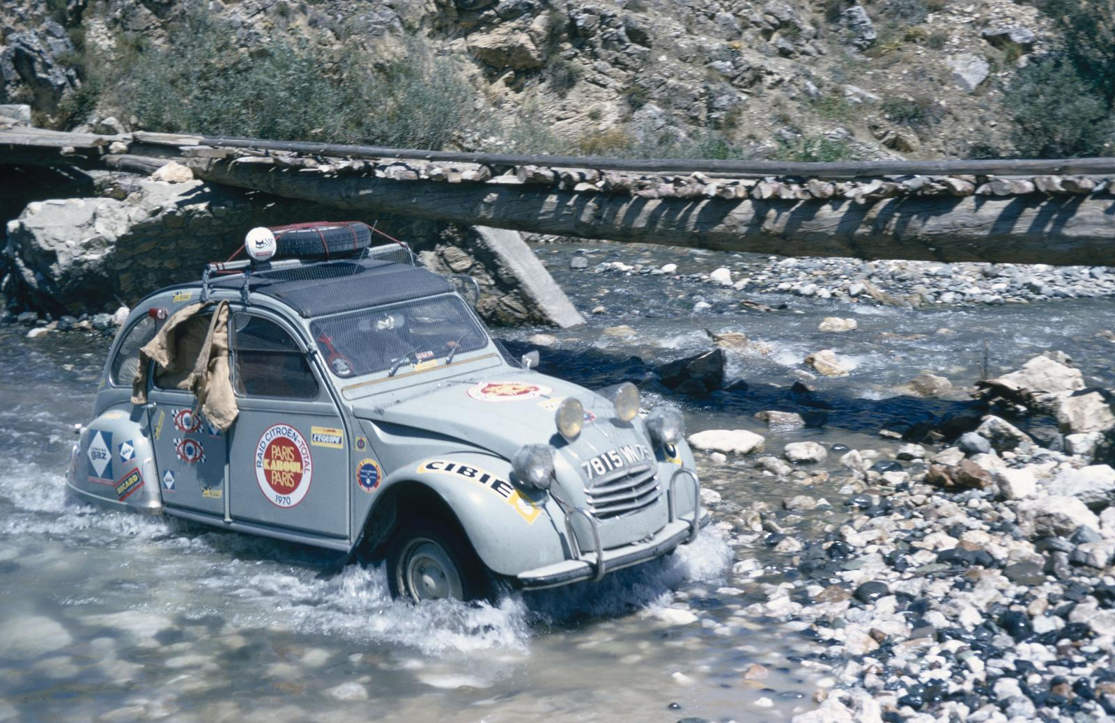 2CV Paris Kaboul 1970